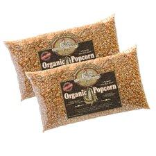 5 lbs All Natural Organic Gourmet Popcorn (Set of 2)