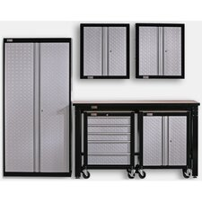 6' H x 4.5' W x 3.5' D 6-Piece Cadet Garage Storage System