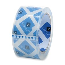 """Packaging Tape, 2""""x55 Yds, 2.5 Mil, 3"""" Core, 6/PK, Clear"""