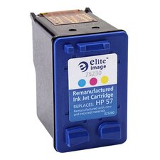 Inkjet Printer Cartridge, 400 Page Yield, Tri-Color Ink