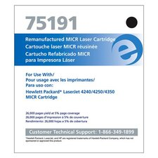 Micr Toner Cartridge, 20000 Page Yield, Black