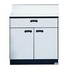 "Treatment Cabinet, 1 Drawer, 30""x16""x30"", Folkstone Gray"