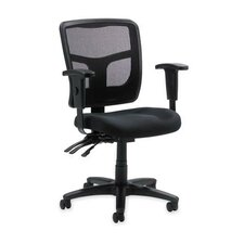 86000 Series Mid-Back Mesh Managerial Chair with Arms