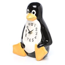 La Penguin Table/Desk Clock