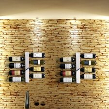 Blast Eight Bottle Wine Rack in Matte Black