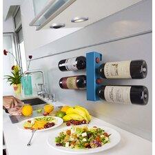 8 Bottle Wall Mounted Wine Rack