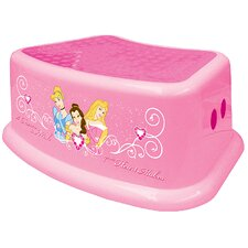 1-Step Plastic Disney Princess Step Stool with 200 lb. Load Capacity