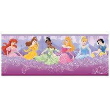 """Room Mates Deco Princess Frames 15' x 9"""" Border Wallpaper"""