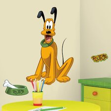 Mickey and Friends Pluto Wall Decal