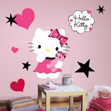 Popular Characters Hello Kitty Couture Giant Wall Decal
