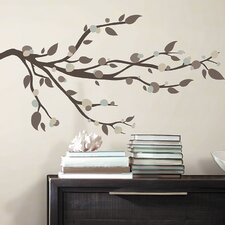 Deco 33 Piece Mod Branch Wall Decal