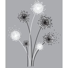 Deco Graphic Dandelion Giant Wall Decal