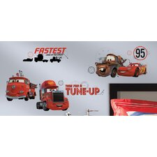 Cars Friends to the Finish Wall Decal