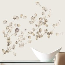 Peel and Stick 24 Piece Dollar Branch Wall Decal