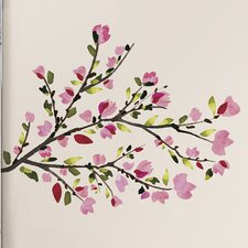 36 Piece Deco Blossom Branches Peel and Stick Wall Decal Set