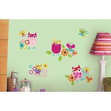 Zutano Owls Peel and Stick Wall Decal