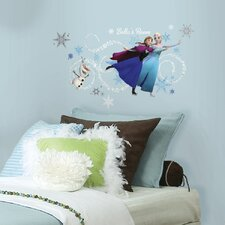 Popular Characters Frozen Giant Wall Decal
