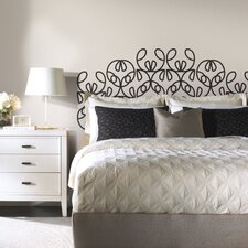 Deco 6 Piece Modernized Headboard Wall Decal