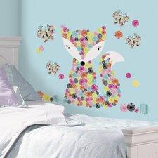 Dena Designs 21 Piece Prismatic Fox Wall Decal