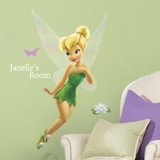 Room Mates Deco 120 Piece Disney Faries Tinkerbell Giant Wall Decal