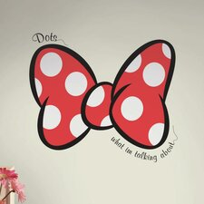 Dots What I'm Talking About Peel and Stick Giant Wall Decal