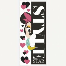 Minnie Style Star Peel and Stick Giant Wall Decal