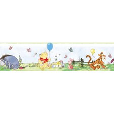 "Winnie The Pooh Toddler 9' x 1.5"" Border Wallpaper"