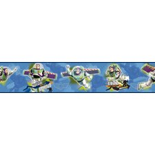 """Room Mates Deco Toy Story to The Rescue 15' x 9"""" Border Wallpaper"""