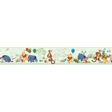 """Room Mates Deco Winnie The Pooh 10' x 1.5"""" Border Wallpaper"""