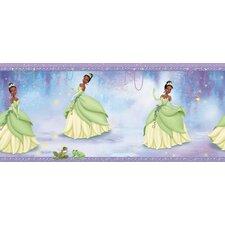 """Room Mates Deco Princess Tiana 15' x 9"""" Border Wallpaper"""