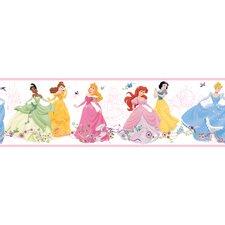 """Room Mates Deco Dancing Princess 15' x 9"""" Border Wallpaper"""