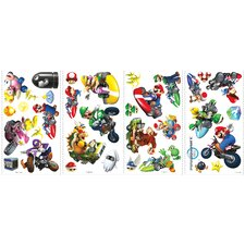 Popular Characters Mario Kart Wall Decal
