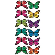 Studio Designs Butterfly 3-D Wall Decal