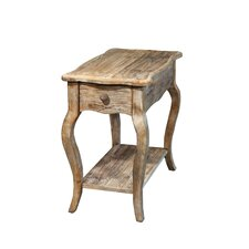 Simplicity Driftwood Chairside Table