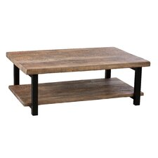 "Pomona 48""W Reclaimed Wood/Metal Coffee Table"