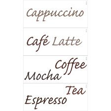 Café Espresso Wall Decal