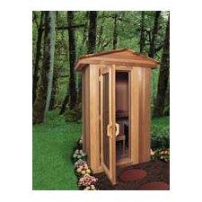 1-2 Person Prebuilt Sauna