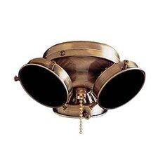 Universal Three Light Ceiling Fan Light Kit