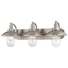 Downtown Edison 3 Light Bath Vanity Light