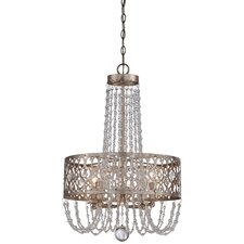 Lucero Florentine 4 Light Chandelier
