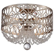 Lucero Florentine 4 Light Flush Mount