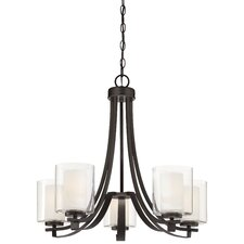 Parsons Studio 5 Light Candle Chandelier