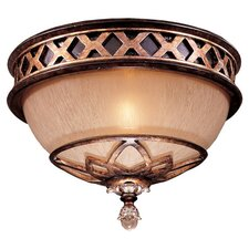 Aston 1 Light Court Flush Mount