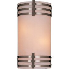 Rectangle 2 Light Wall Sconce
