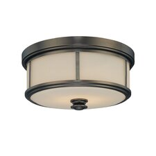 Harvard 2 Light Court Flush Mount