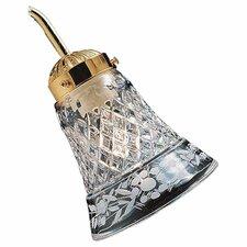 "5"" Glass Bell Ceiling Fan Fitter Shade"