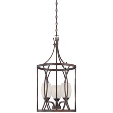 City Club 3 Light Foyer Pendant