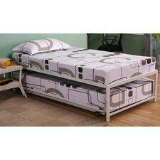 Logan Twin Platform Hi Riser Bed with Pop Up Trundle