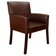 Accent Leather Arm Chair