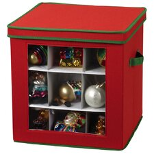 Storage and Organization 27 Piece Holiday Ornament Chest
